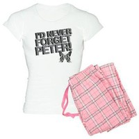 Never Forget Peter Women's Light Pajamas from GritFX T-Shirts at Other Peoples T-Shirts | See t-shirts other people are creating & wearing.