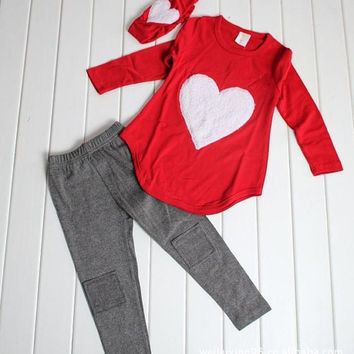 Valentine's Day Outfit by UnicornCoutureGirl on Etsy