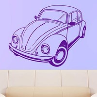 Volkswagen Beetle Wall Decal