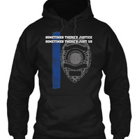 Limited Edition Thin Blue Line Hoodie