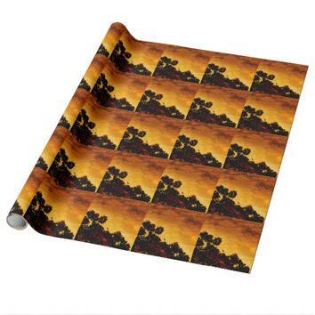 Song Bird Wrapping Paper