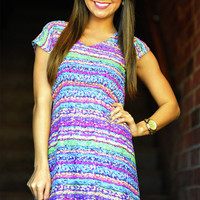 Topped With Sprinkles Dress: Multi. | Hope's