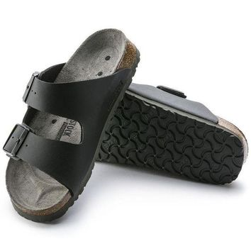 VON3TL Sale Birkenstock Arizona Birko Flor Black 0089420/0089428 Sandals