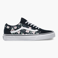 Vans Vintage Floral Old Skool Womens Shoes Multi  In Sizes