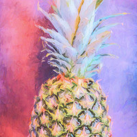 Colorful Pineapple by Andrea Anderegg Photography