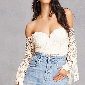 Soieblu Off-the-Shoulder Top