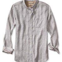 Banana Republic Mens Heritage Printed Linen Shirt