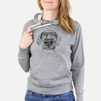 Leroy the German Shorthaired Pointer - French Terry Hooded Sweatshirt
