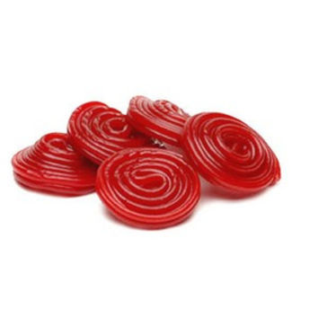 Haribo Red Licorice Wheels 1/2 lb
