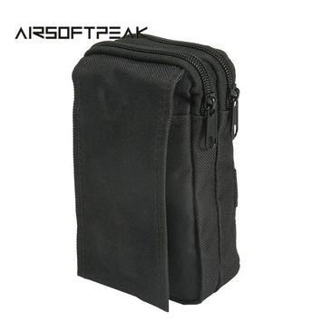 Tactical Molle Sundries Bag EDC Pouches Sport Military Waist Pack Mobile Phone Case Utility Accessory Pouch Nylon Hunting Bags