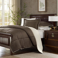 Premier Comfort Down Alternative Comforter Set - Chocolate - Bed Bath & Beyond