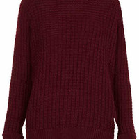 KNITTED FISHERMAN JUMPER