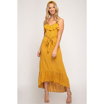 Bask In The Sun Maxi Dress