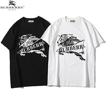 Burberry 2019 early spring new casual wild fashion short sleeve t-shirt