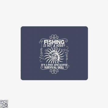 Post Apocalyptic, Fishing Mouse Pad