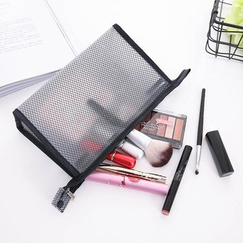 EVA Mesh Travel Toiletry Bag Cosmetic Bags