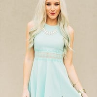 Tea Time Mini Dress