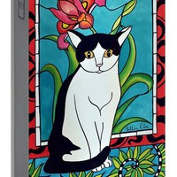 Pretty Me In Tuxedo Portable Battery Charger for Sale by Dora Hathazi Mendes