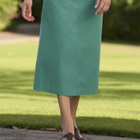 Tencel-blend Boot Skirt