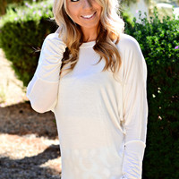 BANDED PIKO IN WHITE