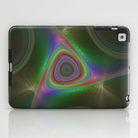 NeonSeries016 iPad Case by fracts - fractal art