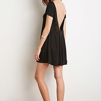 Scoop Back T-Shirt Dress