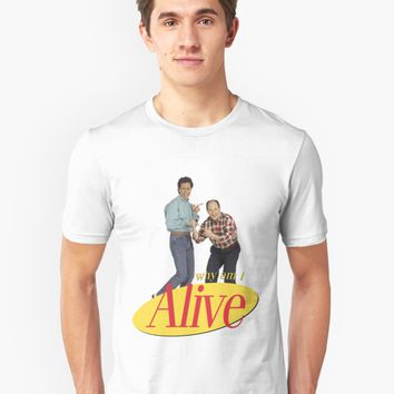 'Seinfeld - Why Am I Alive' T-Shirt by 098v