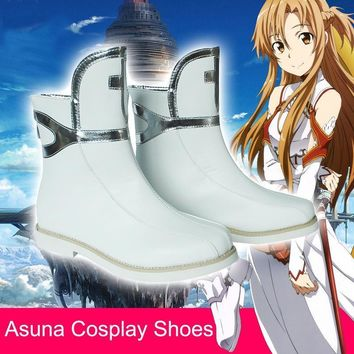 Stock Asuna Shoes from Sword Art Online Cosplay