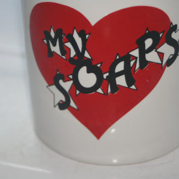 Love My Soaps Coffee Mug, Mr Mugs Cup