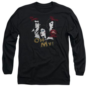 Rocky Horror Picture Show - Oh 3 Ways Long Sleeve Adult 18/1 Officially Licensed Shirt