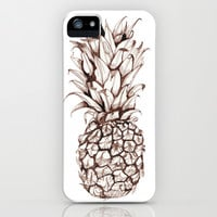Pineapple iPhone & iPod Case by Turn North Press | Society6