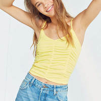 Kimchi Blue Ruched Cami | Urban Outfitters