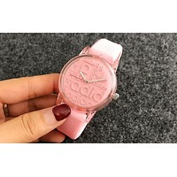 Adidas Silicone Strap Watch - Candy Color Pink I-Fushida-8899