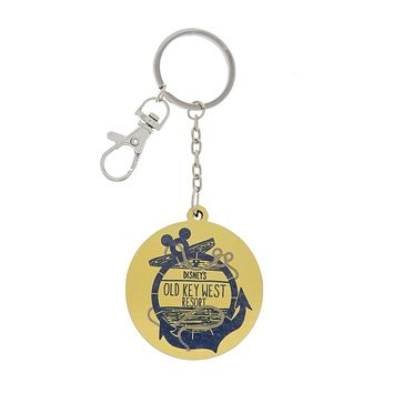Disney Parks Old Key West Resort Metal Keychain New with Tags