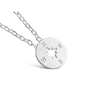 Compass Necklace - Direction of life & I'd Be Lost Without You