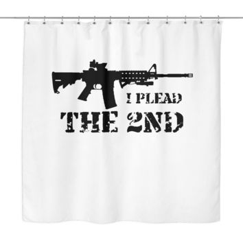 I PLEAD THE 2ND SHOWER CURTAIN