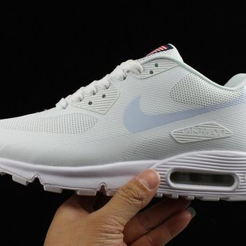 Nike Air Max 90 Flag White Men Running Sneaker