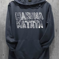 Hakuna Matata Shirt The Lion King Shirt Hoodie Hoodies Sweatshirt Sweater Unisex