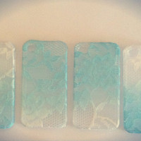 Ombre Iphone Lace Case