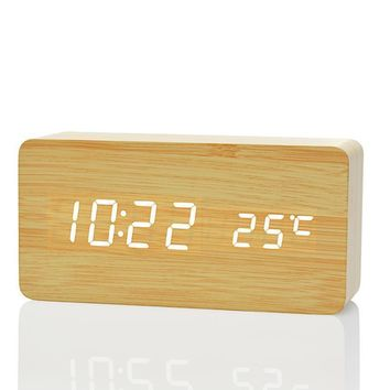 Modern Home LED Digital Alarm Clock