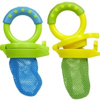Munchkin Fresh Food Feeder - Blue/Green - 2 pk - Free Shipping