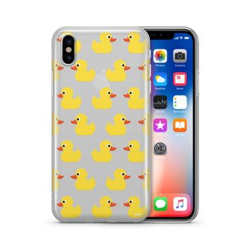 Rubber Ducky  - Clear Case Cover