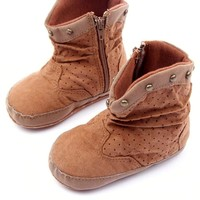 Baby Shoes Winter Boots Boy Rivets High