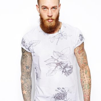 ASOS T-Shirt With Floral Print