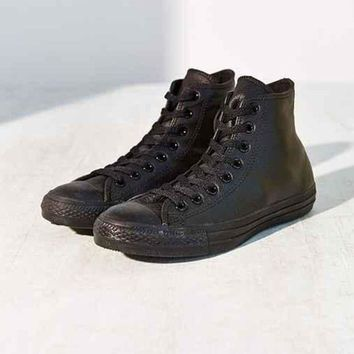 LMFON converse chuck taylor all star leather high top sneaker