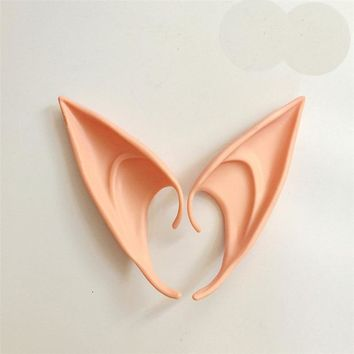 1 Pair DIY Ears Halloween Christmas Mask Costume Decoration Kids Adult Cosplay Accessories Halloween Party Birthday Supplies