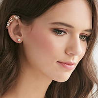 Flower Ear Cuff Set