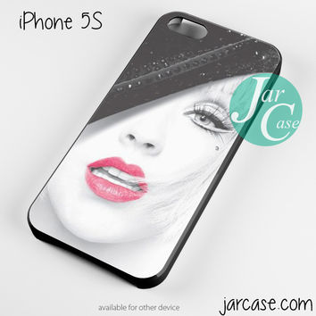 Christina Aguilera Art Phone case for iPhone 4/4s/5/5c/5s/6/6 plus