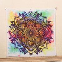 1Ps Indian Mandala Blankets Tapestry Bohemian Bedspread Blanket Dorm Home Decor mantas mandalas