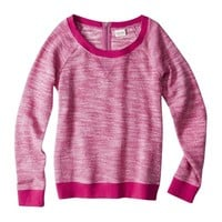 Mossimo Supply Co. Juniors Textured Half Zip Sweatshirt - Assorted Colors